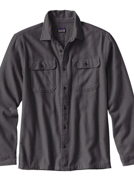 Men's Long-Sleeved Fjord Flannel Shirt