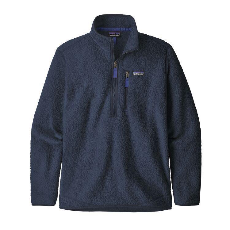 Men's Retro Pile Pullover