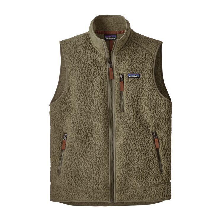 Men's Retro Pile Vest