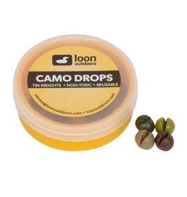 Loon Outdoors Loon - Camo or Black Drops Refill Tub (Tin Split Shot)