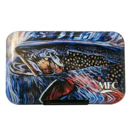 Montana Fly Co. MFC  Poly Fly Box - Undesen's Brookie