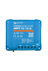 SmartSolar Charge Controller with Built-In Bluetooth MPPT 75/15 75 Volts, 15 Amps