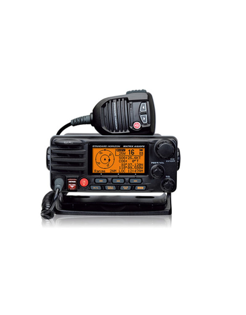 GX2200  Matrix AIS+ Fixed Mount VHF/Hailer - With Built In AIS