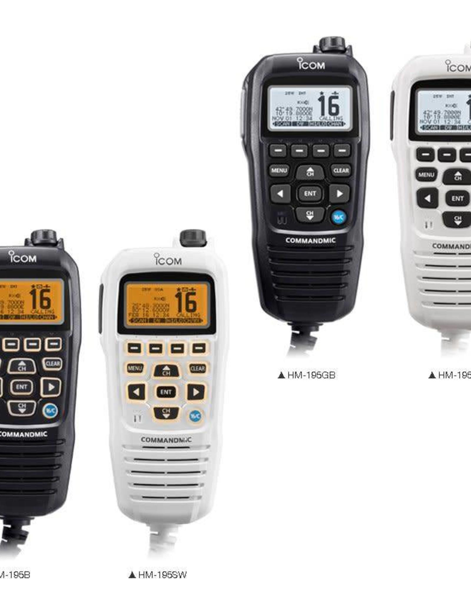 HM-195 REMOTE CONTROL MIC HM-195GB/GW