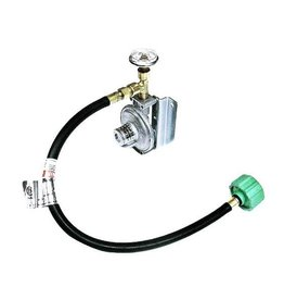 TRIDENT LPG REGULATOR W/GAUGE & QCC HOSE 1211-1402