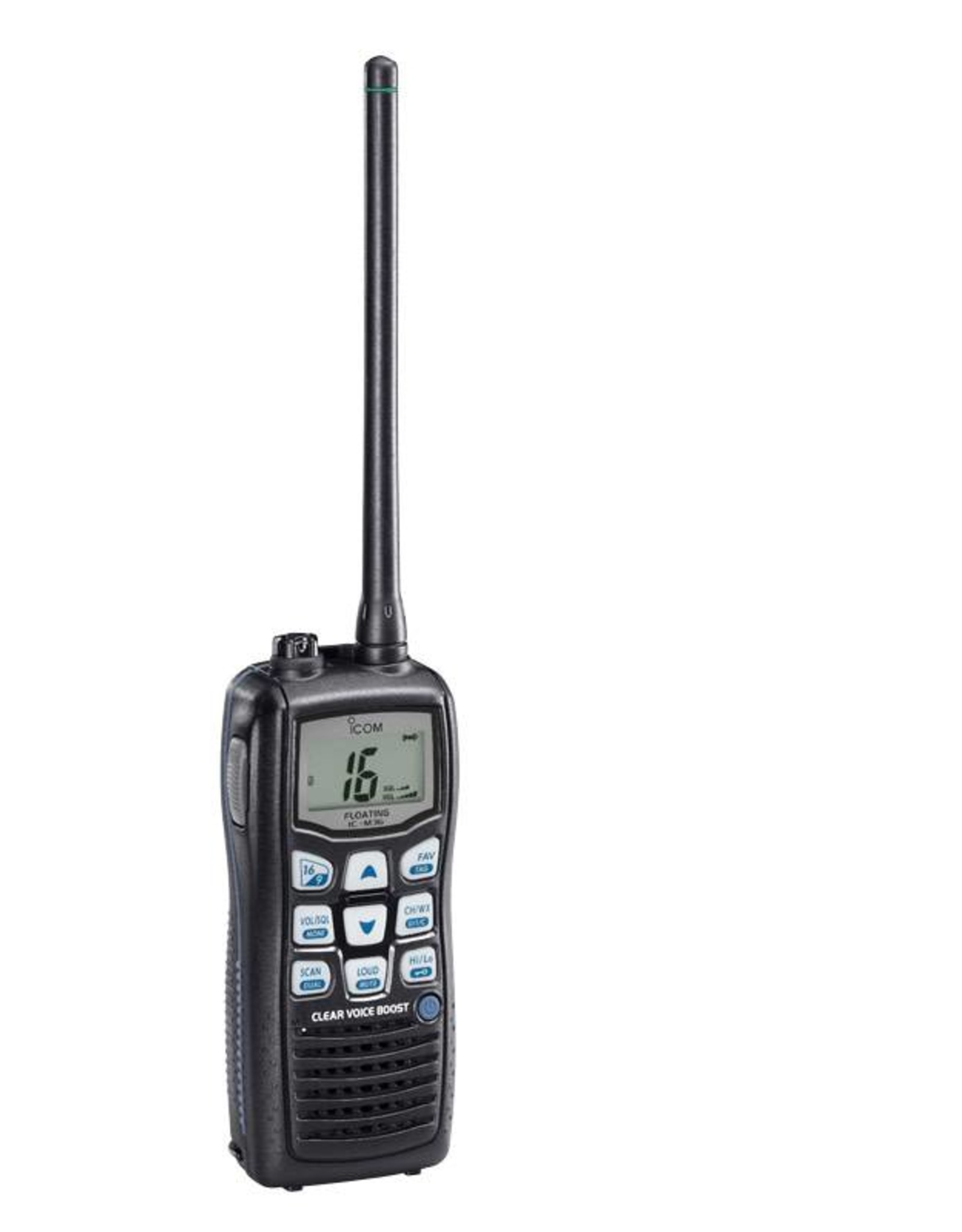 IC-M36 HANDHELD FLOATING VHF TRANSCEIVER
