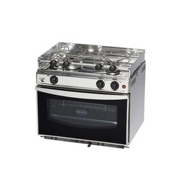TWO BURNER LPG stove WITH OVEN ENO14234