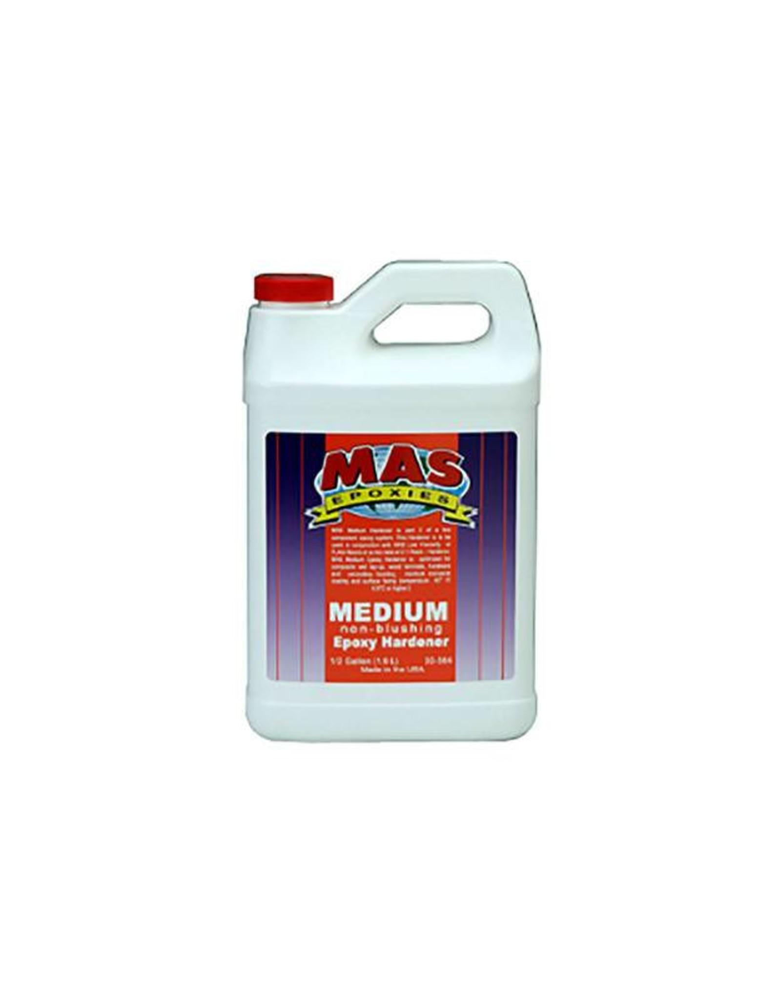 Medium epoxy resin hardener