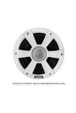 """6.5"""" 230W WHITE MARINE SPKR. LED SG-FL65SPW"""