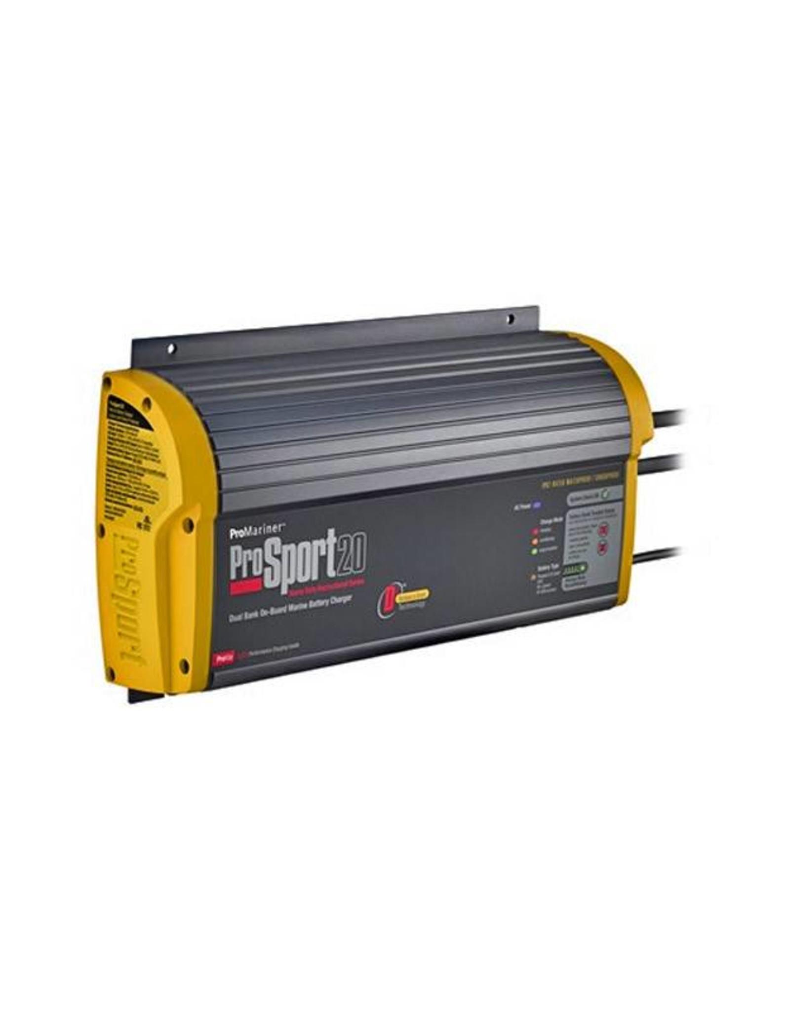 43020 gen-3 12/24V 20-AMP Dual bank battery charger