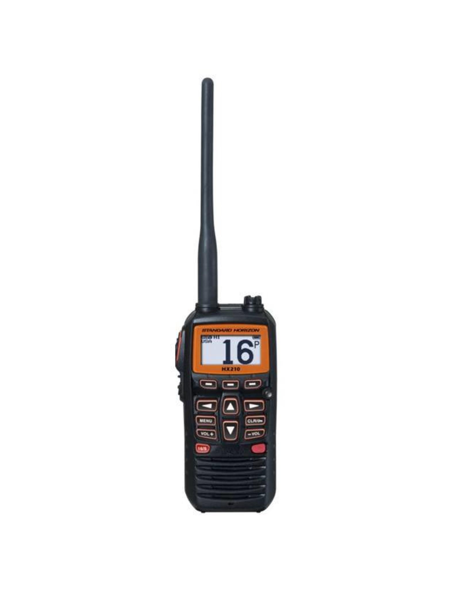 VHF H/HELD 6 WATT FLOATING HX210