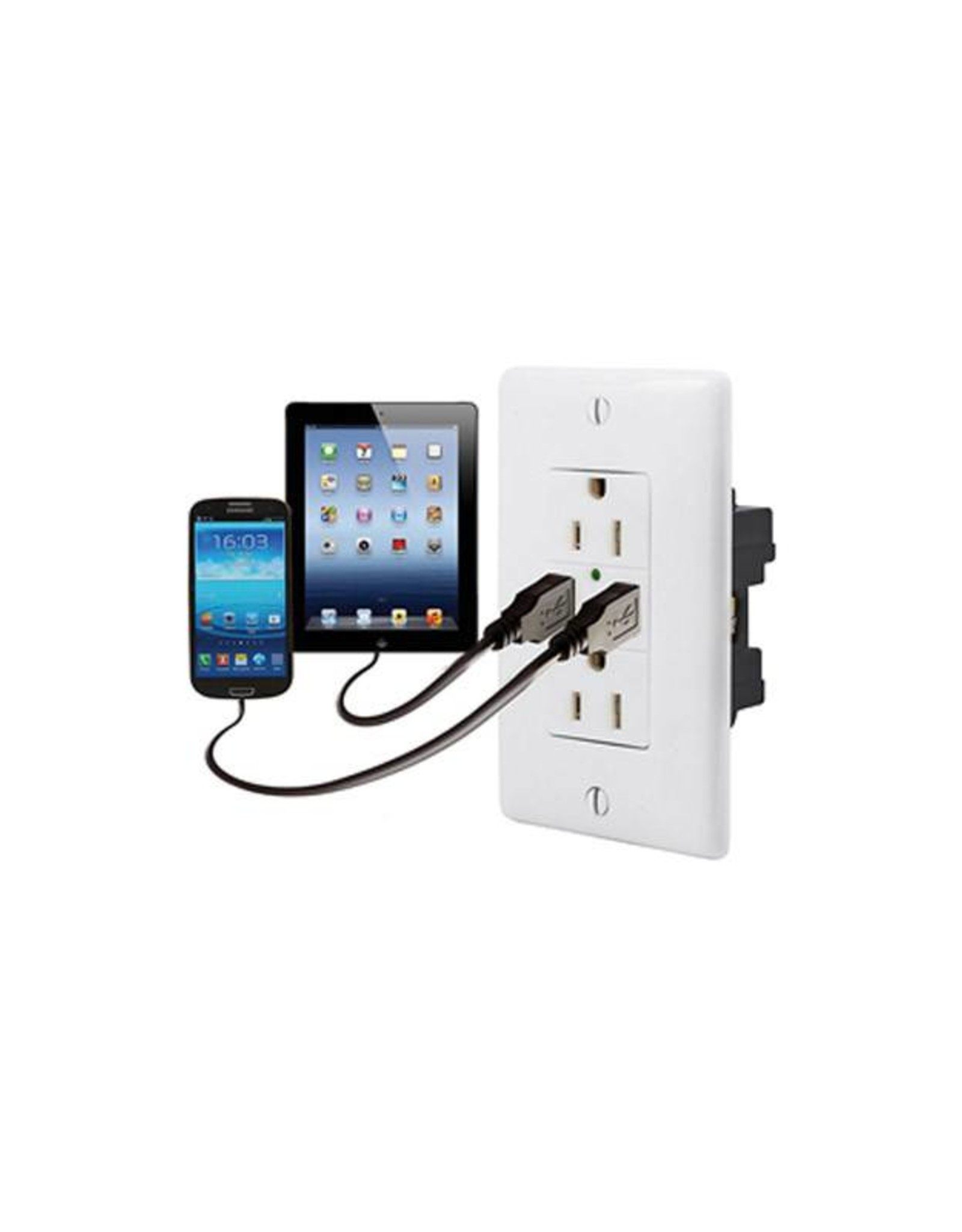 19   USB15X2W Hubbell USB Receptacle