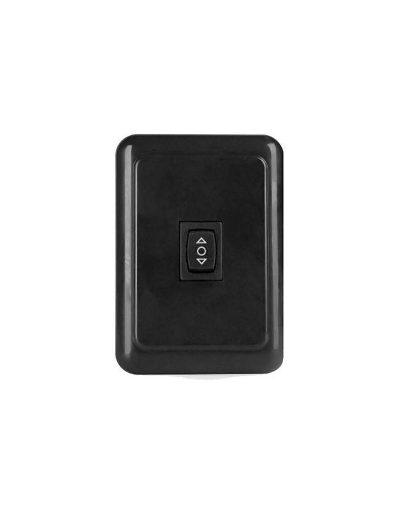 Black Dimmer switch 18-7681 (016-BL4000)