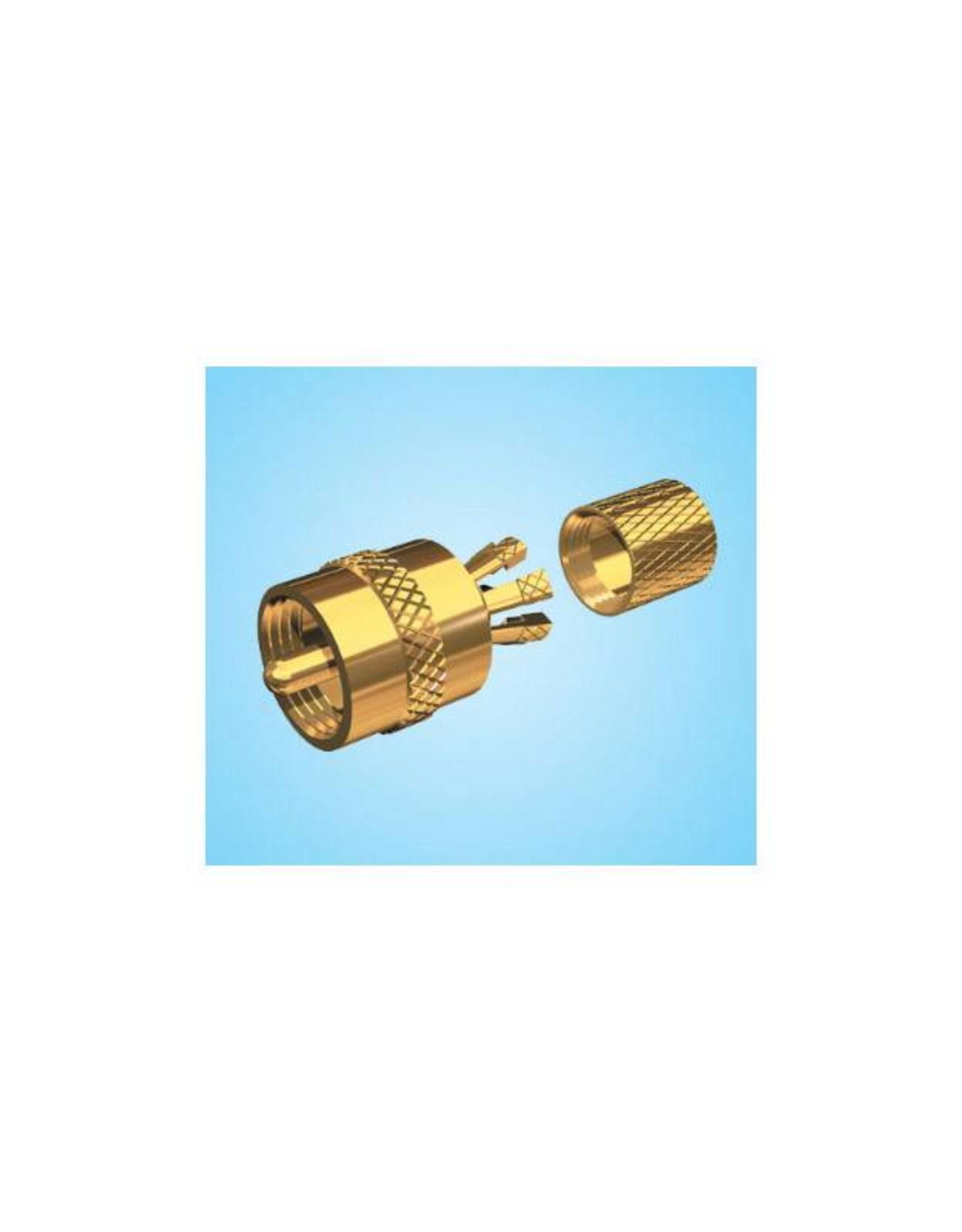 GOLD PLTD CENTERPIN PL-259 PL259CP-G