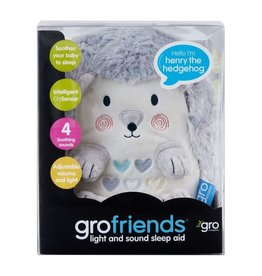 baby store in Canada - Gro Company Henry The Hedgehog Light and Sound Sleep Aid