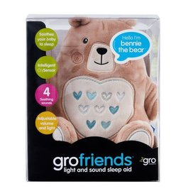 baby store in Canada - Gro Company Nennie The Bear Light and Sound Sleep Aid