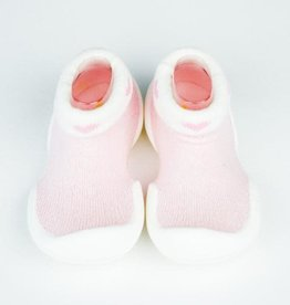 baby store in Canada - GO SHINS Go Shins Baby Rubber Shoes Heart Mesh White