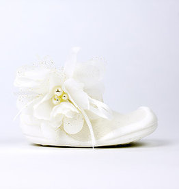 baby store in Canada - GO SHINS Go Shins Baby Rubber Shoes Blooming White