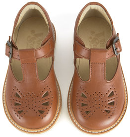 baby store in Canada - YOUNG SOLES Young Soles Rosie Chestnut Brown Leather