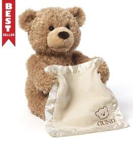 "baby store in Canada - GUND Gund Animated Plush - Peek-A-Boo Bear 11.5"""