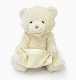 "baby store in Canada - GUND Gund Animated My First Teddy - Peek-A-Boo Bear - cream 11.5"""