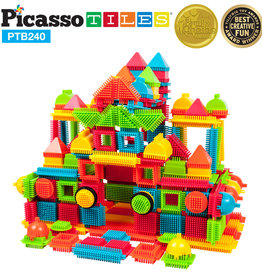 baby store in Canada - PICASSO TILES PICASSO TILES 240 BRISTLE SHAPE BLOCKS