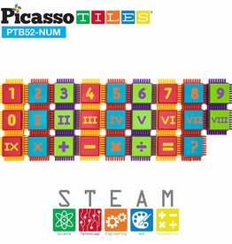 baby store in Canada - PICASSO TILES PICASSO TILES 52PC NUMBER BLOCKS