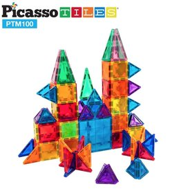 baby store in Canada - PICASSO TILES PICASSO TILES 100 PIECE 3D MAGNETIC BLOCKS-MINI DIAMOND