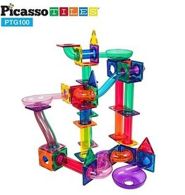 baby store in Canada - PICASSO TILES PICASSO TILES MARBLE RUN MAGNETIC BUILDING BLOCK SET 100 PC
