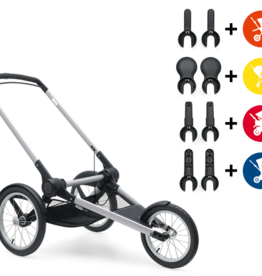 baby store in Canada - BUGABOO Bugaboo Runner Stroller Base-Compatible with Cameleon3, Donkey, Buffalo, Bee3-Seat and Adapters sold additionally Donkey