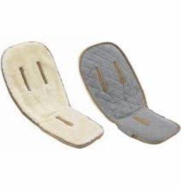 baby store in Canada - BUGABOO Bugaboo Wool Seat Liner-Wool Collection Wool/Grey Melange Wool/Grey