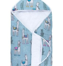 baby store in Canada - CAPTAIN SILLY PANTS Captain Silly Pants Llama Hooded Towel
