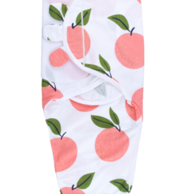 baby store in Canada - CAPTAIN SILLY PANTS Captain Silly Pants Peaches & Cream Velcro Swaddle Wrap