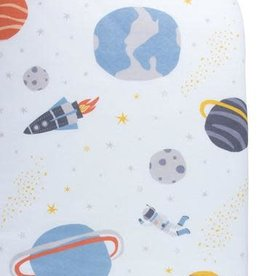 baby store in Canada - CAPTAIN SILLY PANTS Captain Silly Pants Galaxy Crib Sheet