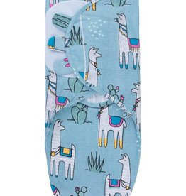 baby store in Canada - CAPTAIN SILLY PANTS Captain Silly Pants Llama Velcro Swaddle Wrap