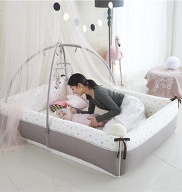 baby store in Canada - CREAMHAUS Creamhaus INUA Bumper Bed Canopy 151*106*150CM