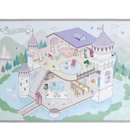 baby store in Canada - CREAMHAUS Creamhaus Creamy Play Mat Castle