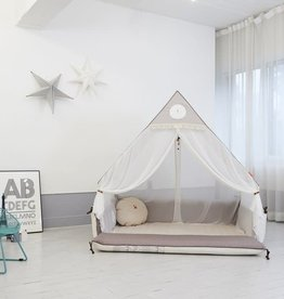 baby store in Canada - CREAMHAUS Creamhaus Inua Bumper Bed Canopy 171*121*142CM