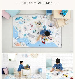 baby store in Canada - CREAMHAUS Creamhaus Creamy Play Mat Village