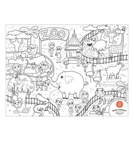 baby store in Canada - PRINCE LIONHEART Prince Lionheart Color and Draw Zoo