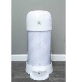 baby store in Canada - PRINCE LIONHEART Prince Lionheart Twist'r Diaper Disposal System White Candy Stripe