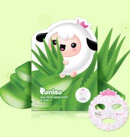baby store in Canada - PUTTISU PUTTISU REAL FRUIT MASK SHEET - ALOE