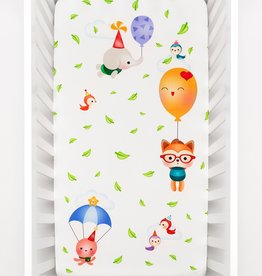 baby store in Canada - ROOKIE HUMANS Rookie Humans Crib Sheet Balloon Party