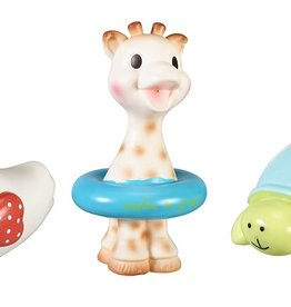 baby store in Canada - SOPHIE LA GIRAFE Sophie La Girafe Set Of 3 Bath Toys