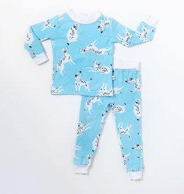 baby store in Canada - LITTLE SLEEPIES LITTLE SLEEPIES BAMBOO PAJAMA SET DALMATIONS