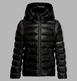baby store in Canada - MACKAGE Mackage Kids Lightweight Down Coat With Hidden Hood Remy Black