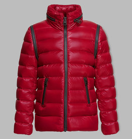 baby store in Canada - MACKAGE Mackage Kids Lightweight Down Coat With Hidden Hood Remy Red