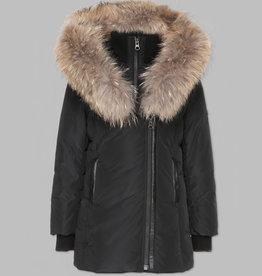baby store in Canada - MACKAGE Mackage Kids Winter Jacket LeeLee Black