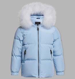 baby store in Canada - MACKAGE Mackage Babies Down Hood Jacket Morgan Icy Blue