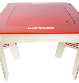 baby store in Canada - Magformers Red Square Wood Table Set
